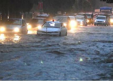 Hyderabad rains 1