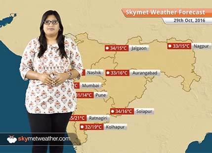 Weather Forecast for Maharashtra for Oct 29: Rain in Marathwada and Vidarbha, dry weather in Mumbai