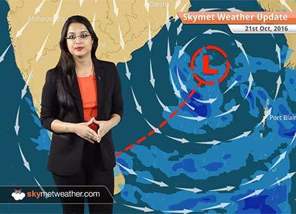 Weather Forecast for Oct 21: Rain in Andaman and Nicobar Islands, Tamil Nadu, Kerala, dry weather in Delhi