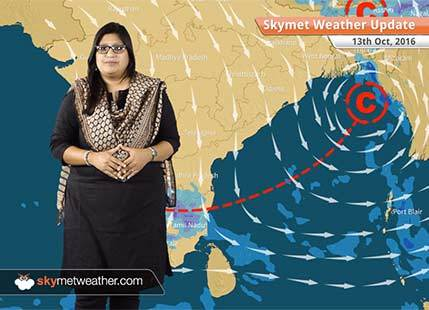 Weather Forecast for Oct 13: Rain in Chennai, Karnataka, Northeast, comfortable weather in Delhi