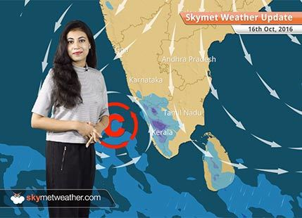 Weather Forecast for Oct 16: Rain in Peninsular India, Delhi and North India remain dry