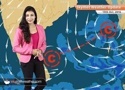 Weather Forecast for Oct 19: Rain in Tamil Nadu, Kerala, Andaman and Nicobar Islands