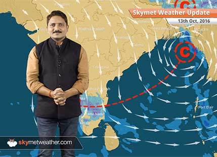 Weather Forecast for Oct 13: Rain in Chennai, Tamil Nadu, Karnataka, Northeast, dry weather in North India