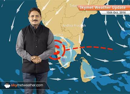 Weather Forecast for Oct 15: Dry weather in Northwest and Central India, rain in TN, Karnataka, Kerala