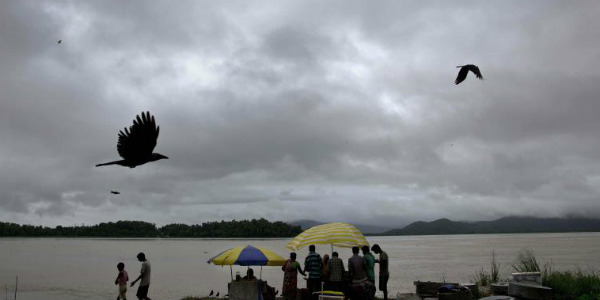 Ramagundam in Telangana receives heavy rains