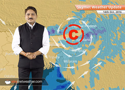 Weather Forecast for Oct 14: Cool north-westerlies increases over NW and Central India