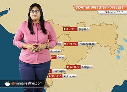 Weather Forecast for Maharashtra for Nov 5: Maximum temperatures to drop across Coastal Maharashtra