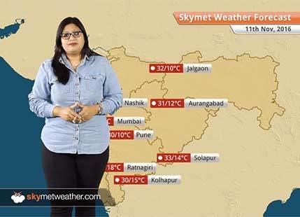 Weather Forecast for Maharashtra for Nov 11: Minimums drop below normal across Maharashtra