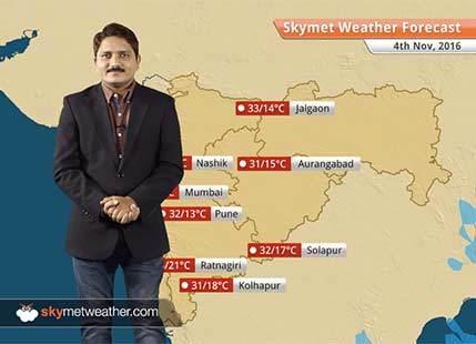 Weather Forecast for Maharashtra for Nov 4: Sultry weather over coastal Maharashtra including Mumbai