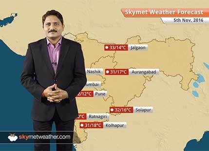 Weather Forecast for Maharashtra for Nov 5: Drop in temperatures over coastal Maharashtra