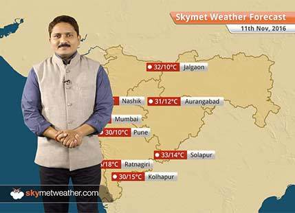 Weather Forecast for Maharashtra for Nov 11: Maharashtra will observe below normal minimums