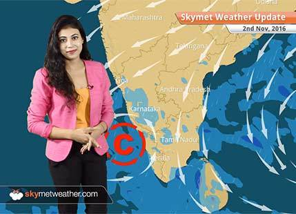 Weather Forecast for Nov 2: Northeast Monsoon active in Andaman, Kerala and Tamil Nadu