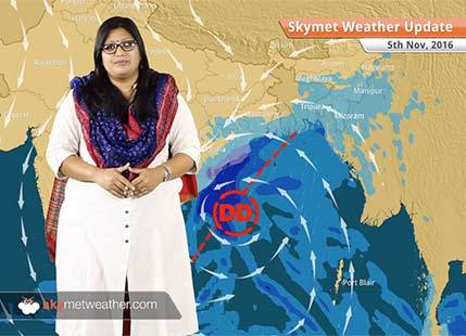 Weather Forecast for Nov 5: Deep depression in Bay to give rain in Odisha, Kolkata, smog in Delhi