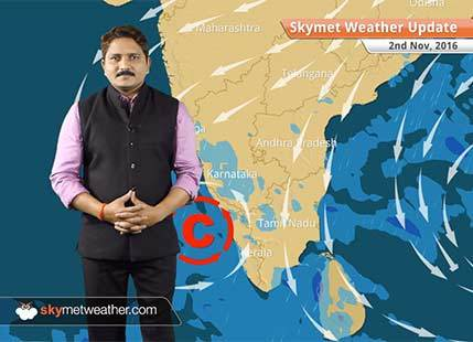 Weather Forecast for Nov 2: Rain in Peninsular India, smog in Delhi