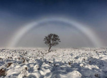 This rare white rainbow in Scotland is simply magical