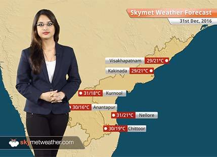 Weather Forecast for Andhra Pradesh for Dec 31: Warm days and cool nights likely in Andhra
