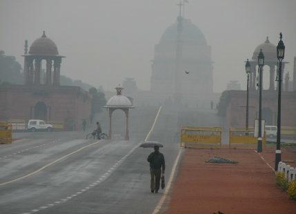 Night in Delhi becomes colder than Shimla