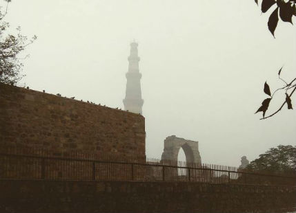 Delhi observes season's first Cold-Day weather conditions