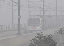 Fog in Delhi 2