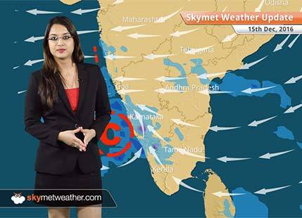 Weather Forecast for Dec 15: Traces of Vardah to give rain in Bangalore, Hyderabad, Goa