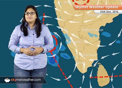 Weather Forecast for Dec 16: Rain continues in Chennai, Bangalore, Mercury dips in North India