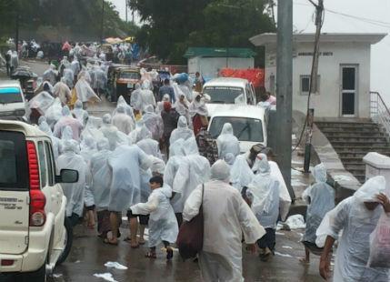 Rainy New Year likely for pilgrims travelling to Vaishno Devi