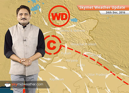 Weather Forecast for Dec 24: Fog in East UP, rain and snow over Jammu and Kashmir
