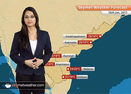 Weather Forecast for Andhra Pradesh for Jan 18: Sunny days in Coastal Andhra, Cool nights in Rayalaseema
