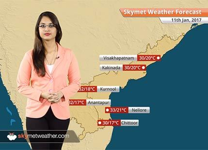 Weather Forecast for Andhra Pradesh for Jan 11: Warm days and comfortable nights in Andhra Pradesh