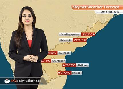 Weather Forecast for Andhra Pradesh for Jan 25: Warm days in Andhra Pradesh