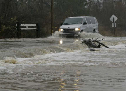 Monster Storm in California brings flood, rain, and snow