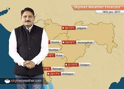 Weather Forecast for Maharashtra for Jan 18: Nashik and Jalgaon to witness very light rain