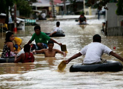 Incessant rains causes flash floods in Philippines, 5 killed