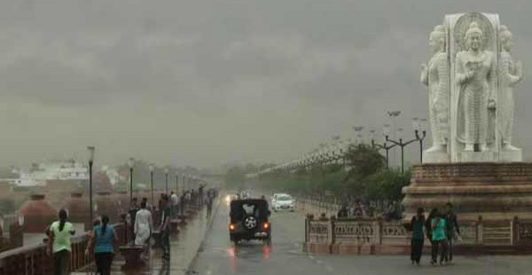 Rain in Lucknow