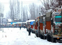 Snow in Kashmir