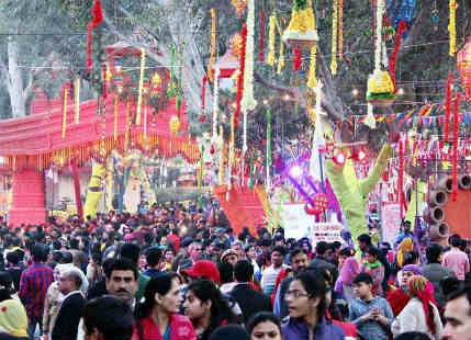 No major weather interruption in sight for Surajkund Mela