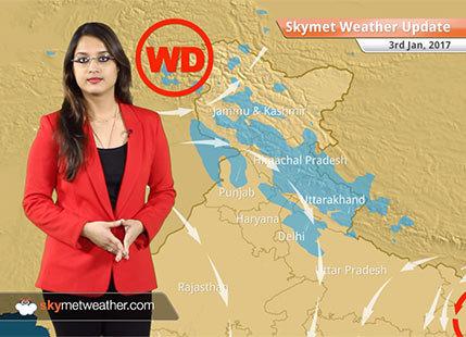 Weather Forecast for Jan 3: Rain in Bihar, Jharkhand, Chhattisgarh; Fog in UP, Punjab