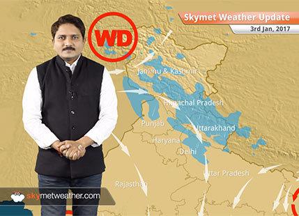 Weather Forecast for Jan 3: Rain in Bihar, Jharkhand; Snow in Kashmir
