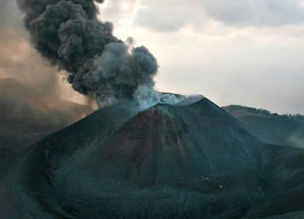Barren Island Volcano in India
