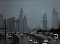Dubai observes rain, traffic chaos witnessed