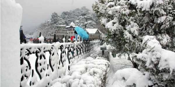 Snow in Hills