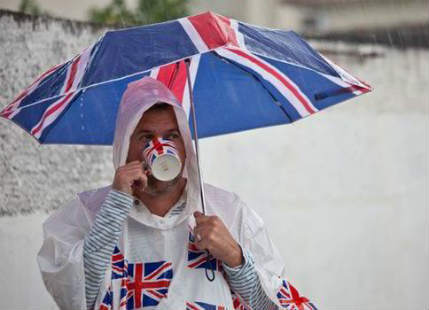 Rain, gales ahead for Britain