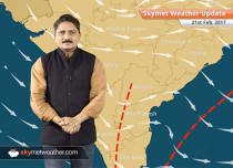 Weather Forecast for Feb 21: Significant drop in temperatures over northwest India