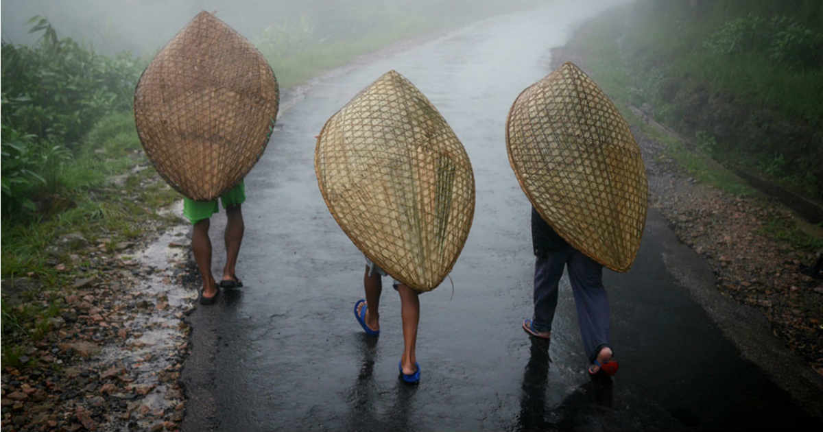 Heavy rains in Northeast India