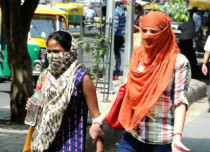 Delhi warm days