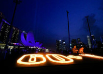 Lights out across the globe for Earth Hour 2017