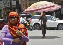 At 40.4 degrees, Hyderabad reels under scorching summer heat