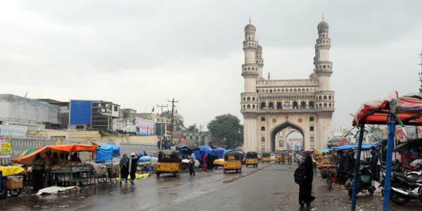 Light rains to make an appearance over Hyderabad