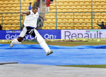 Bangalore Rain may spoil the 2nd India-Australia test match