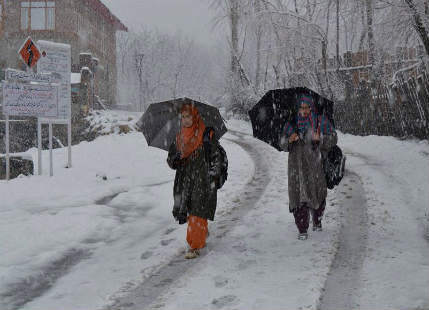 Jammu and kashmir Rain